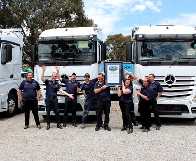 Elite Support Certification - Whitehorse Truck Centre image