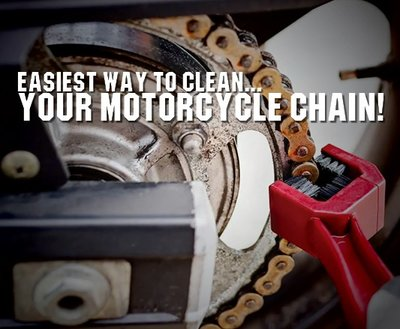 Easiest Way To Clean Your Motorcycle Chain! image