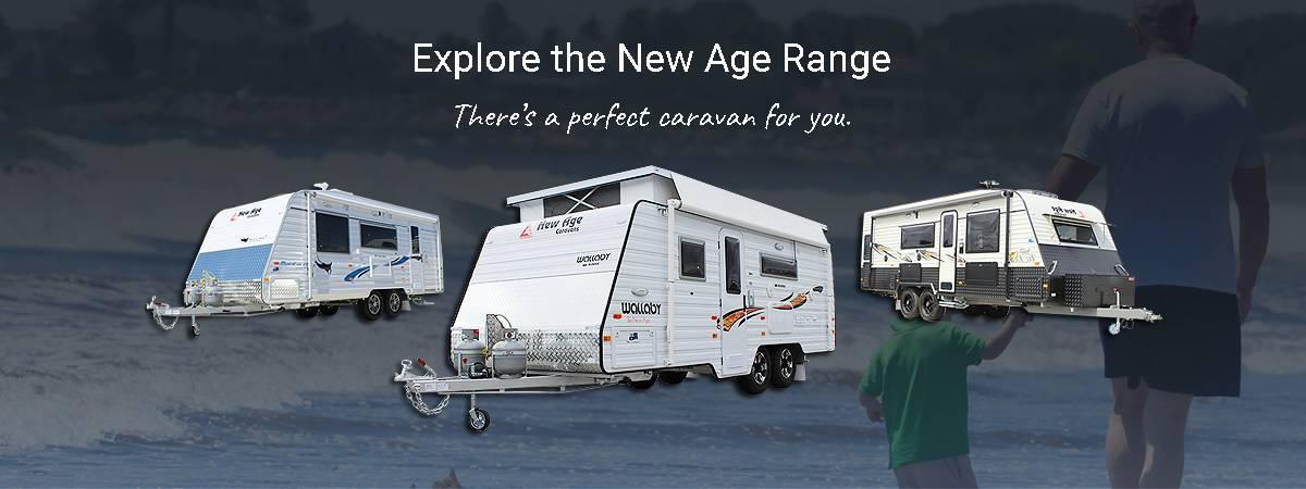 Simple 20FT OZ CLASSIC ENSUITE SERIES 2 New Age Caravans Melbourne