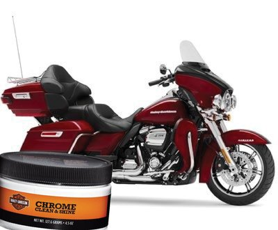 How To Correctly Clean & Polish Chrome On Your Harley Davidson®  image