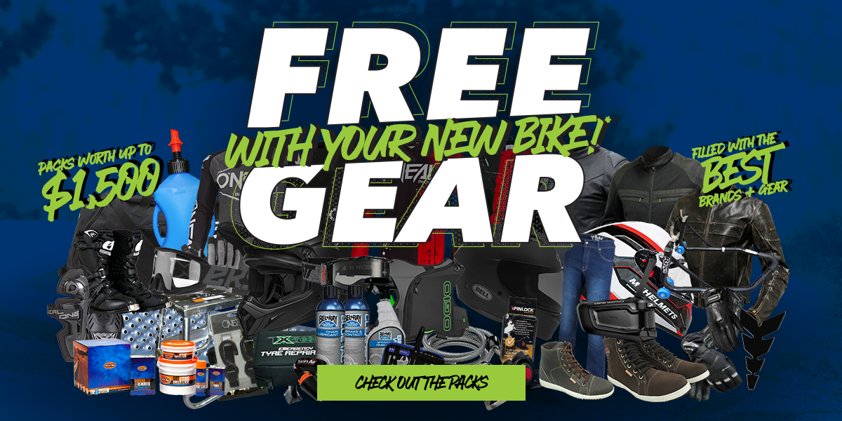 blog large image -  FREE GEAR With Your New Bike @ Ultimate