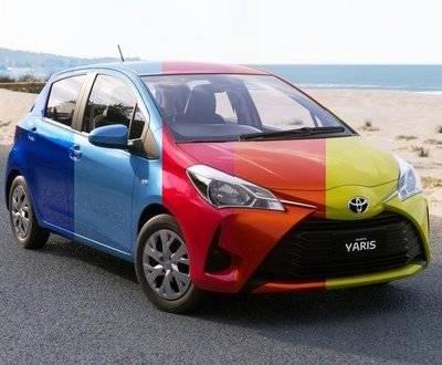 Automotive Colour Trends 2018 image