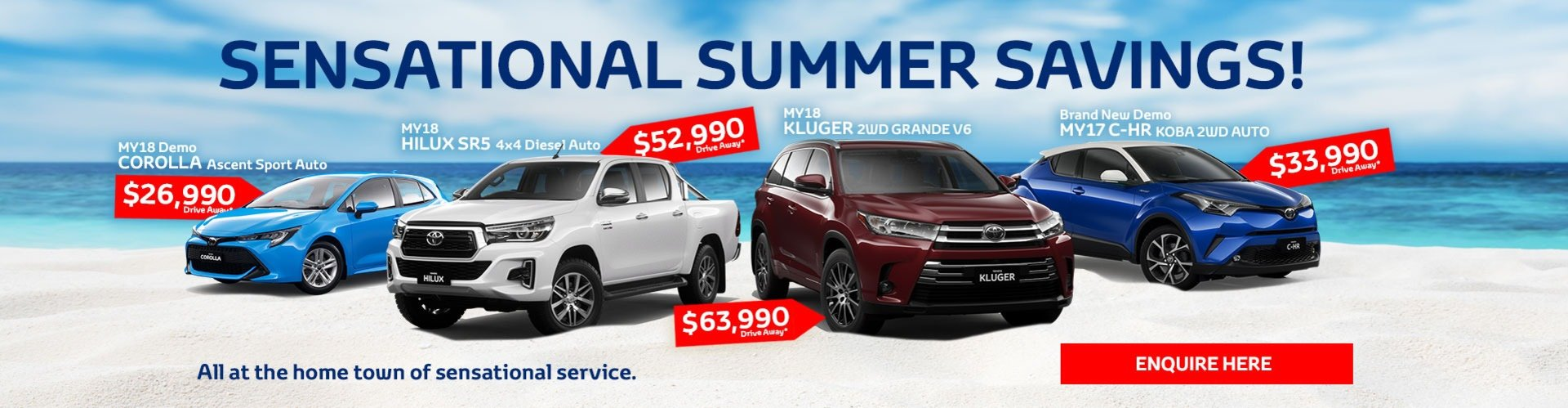Sensational Summer Savings
