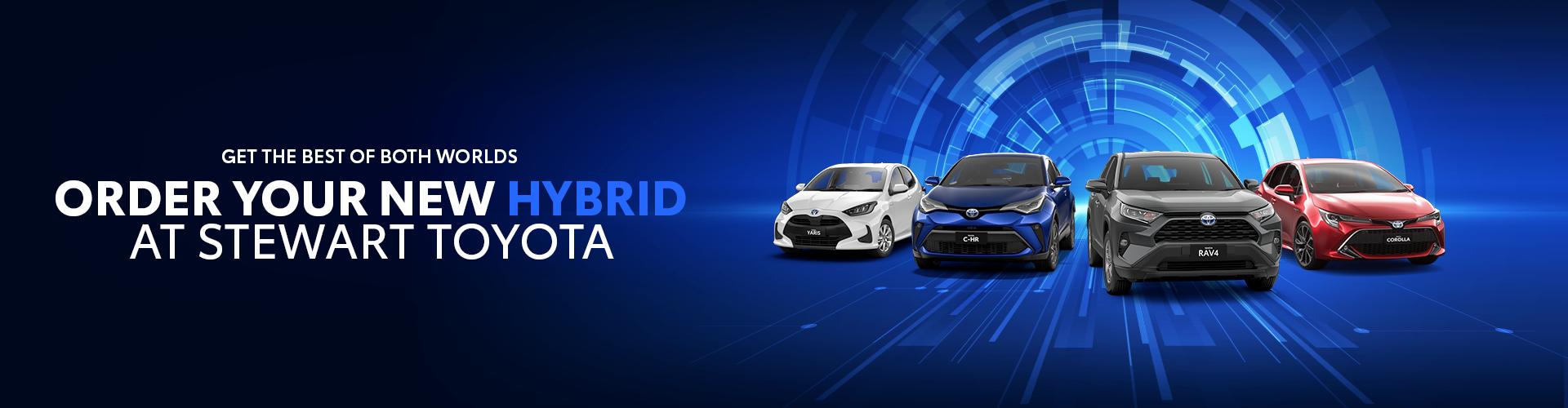 Order Your New Hybrid
