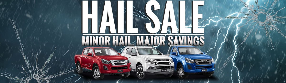 Hail Sale - Minor Damage, Major Savings Large Image