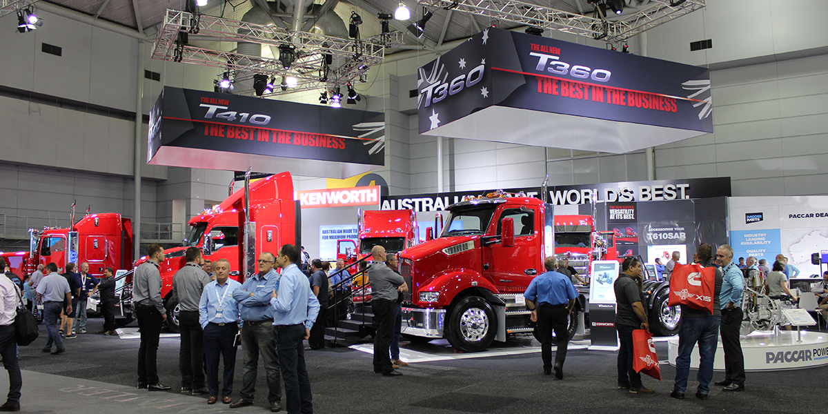 blog large image - PACCAR unveils the new T360 and T410 at the 2019 Brisbane Truck Show