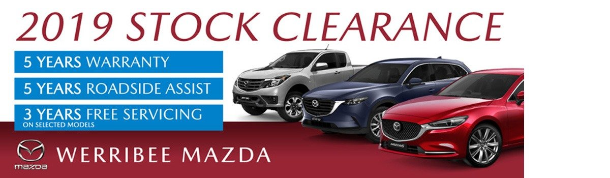 The 2019 Mazda Stock Clearance is on now at Werribee Mazda! Large Image