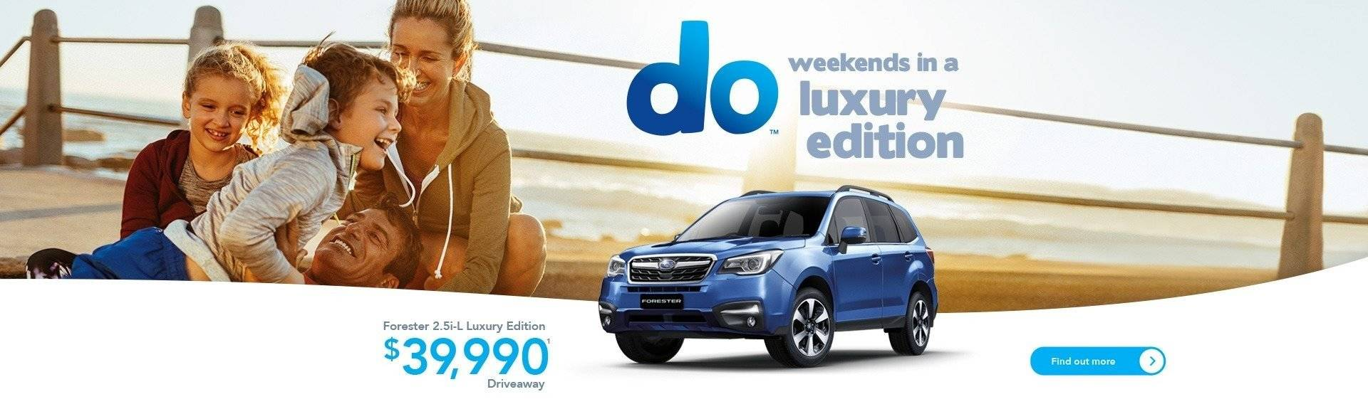 Forester Luxury Offer