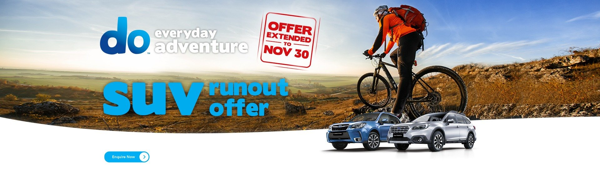 SUV Run-Out Offer