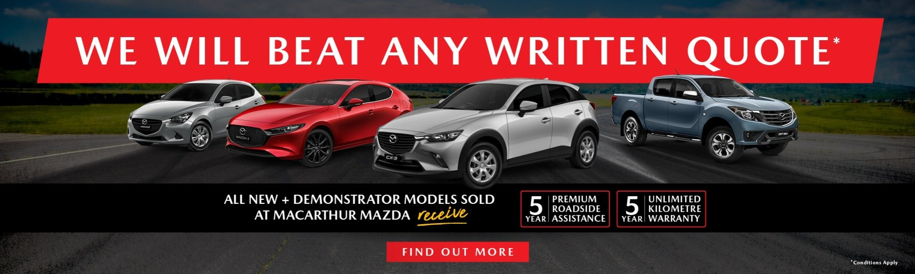 Macarthur Mazda | We'll beat all writen quotes