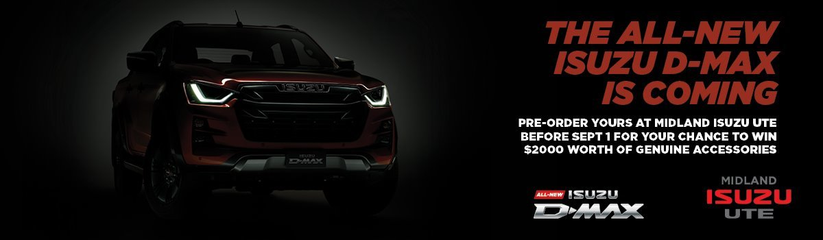 PRE-ORDER YOUR NEW D-MAX FOR YOUR CHANCE TO WIN Large Image