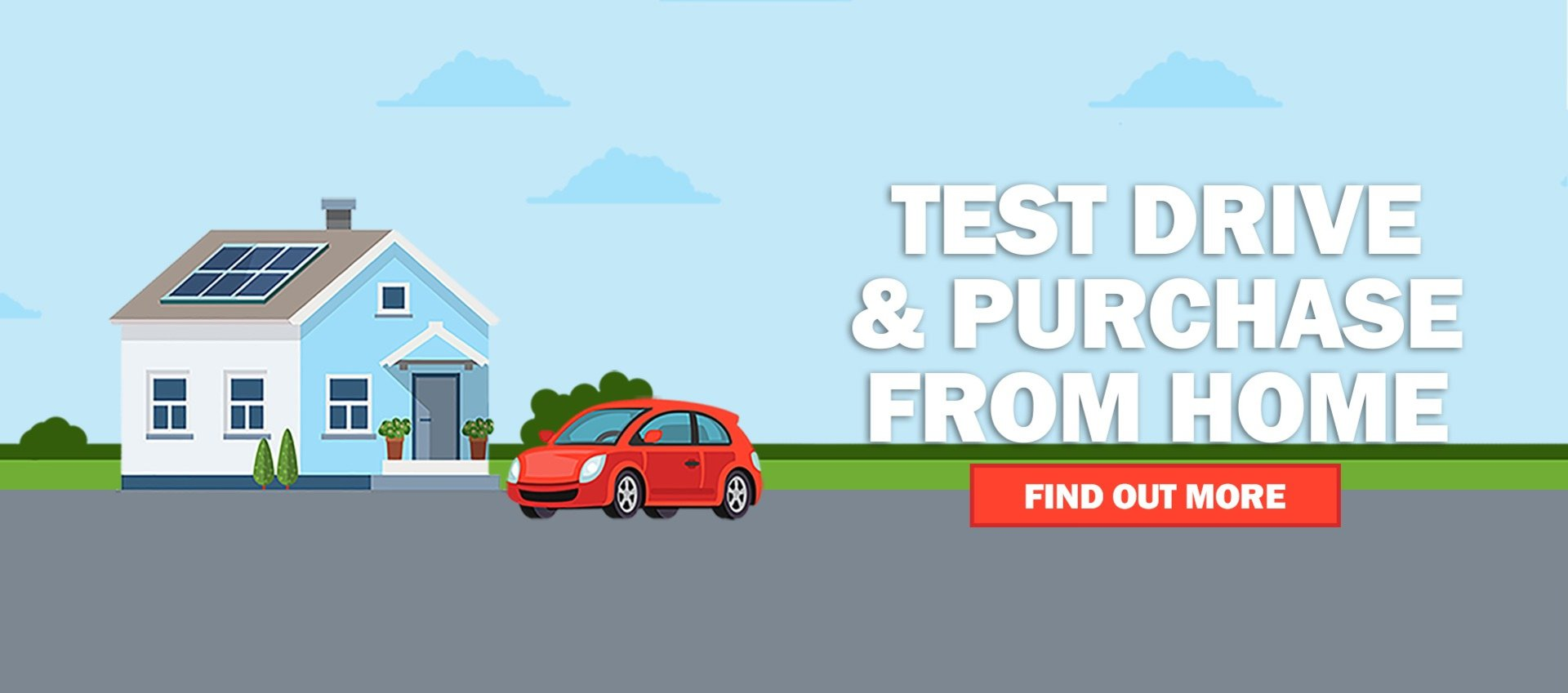 Test drive & purchase from home