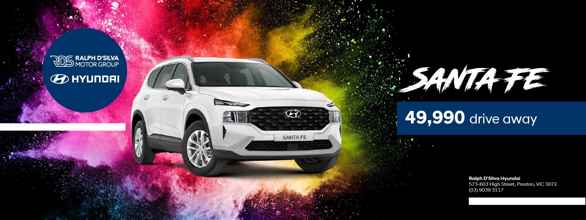 santafe @ only $49990 drive away
