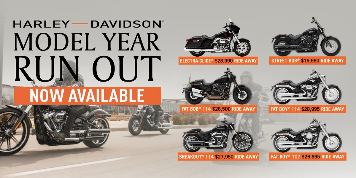 blog large image - MY19 Harley-Davidson® Model Year Run Out is here!