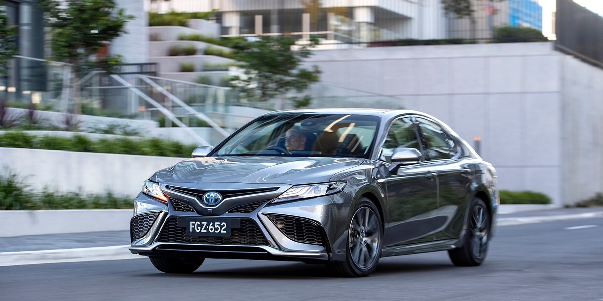 blog large image - More Hybrids, safety and style for facelifted Toyota Camry