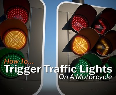 How To Trigger Traffic Lights On A Motorcycle image