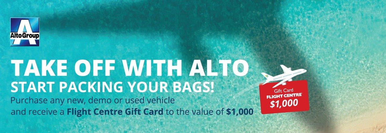 Take off with Alto