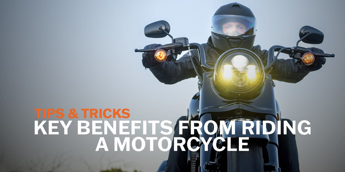 blog large image - Key Benefits From Riding A Motorcycle | Tips & Tricks