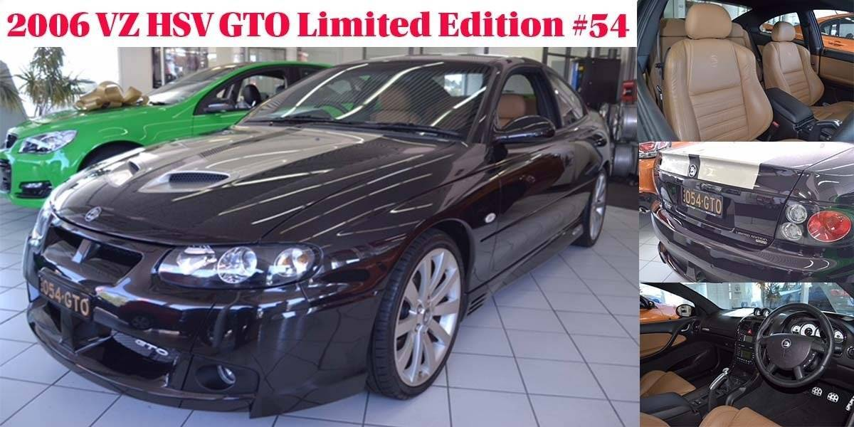 blog large image - Calling all car enthusiasts! 2006 VZ HSV GTO Limited Edition is in our showroom!