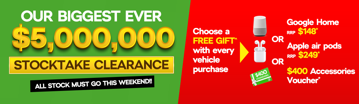 Our biggest ever stock clearance. Large Image