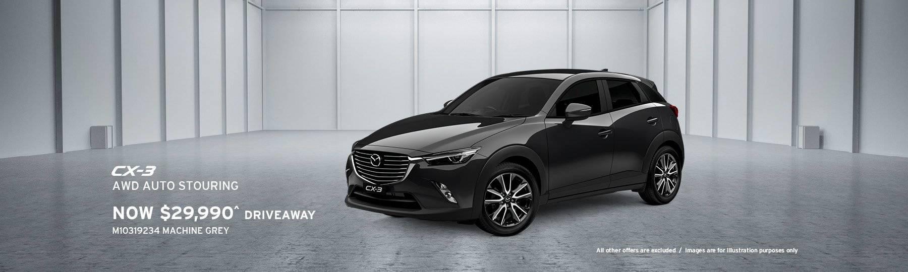 Newcastle Mazda CX-3 Special