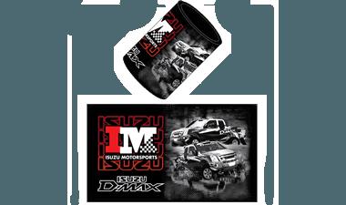 Isuzu Motor Sports Merchandise