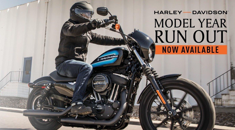 Harley Davidson MY19 Year Model Runout