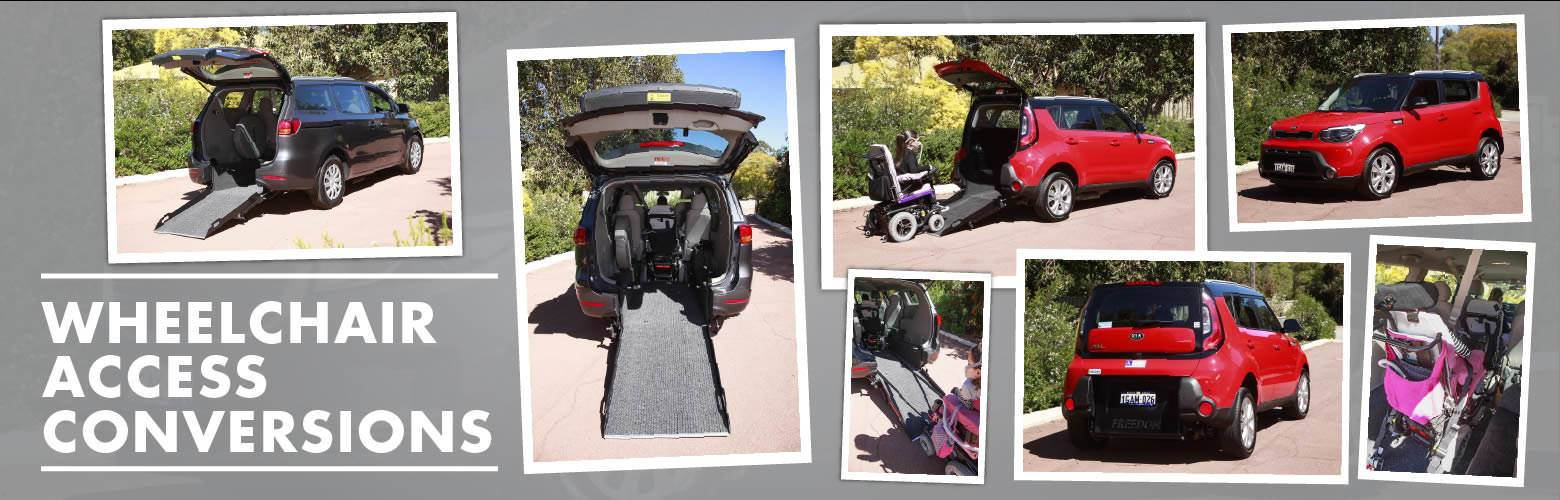 John Hughes Kia Wheel chair conversions