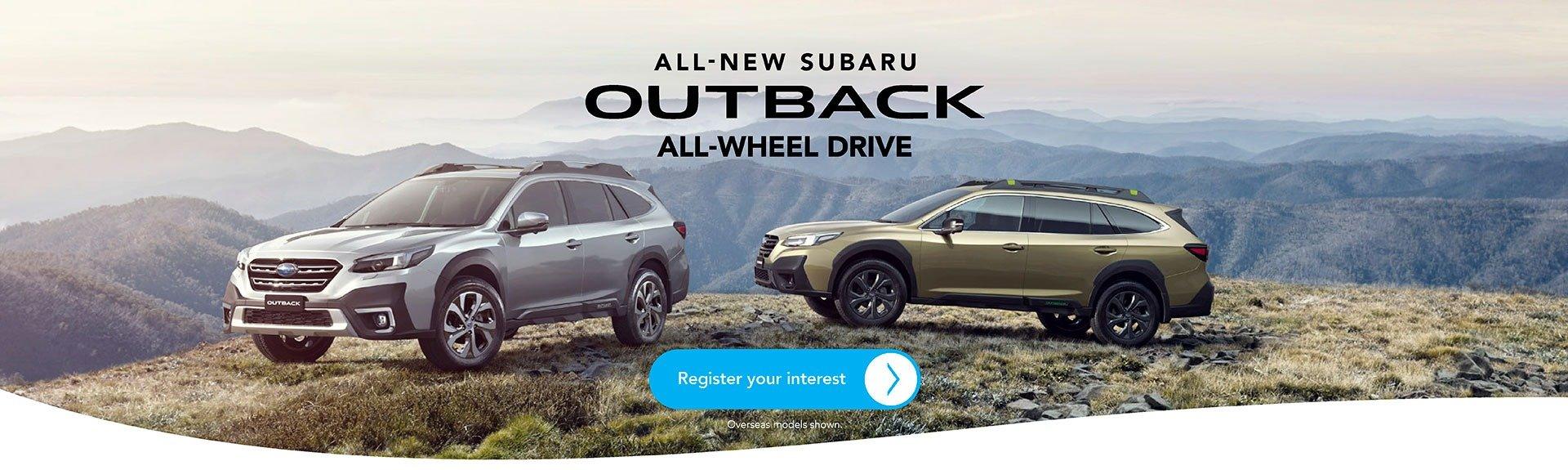 All New Subaru Outback