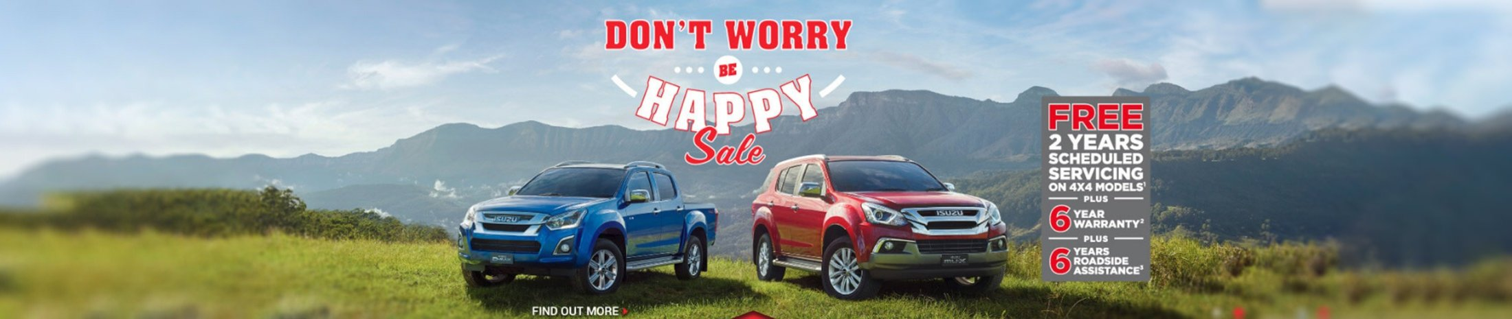 The Don't Worry Be Happy Sale Is Now On!
