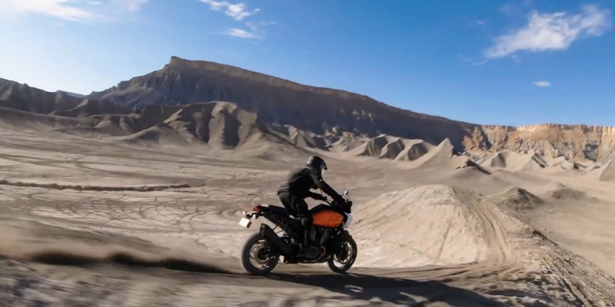 blog large image - Pan America™: Harley Davidson's® First Adventure Bike