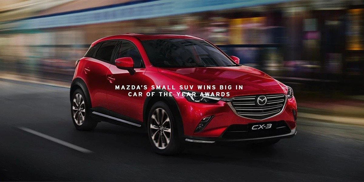 blog large image - Another WIN for Mazda, CX-3 taking best small SUV award - Berwick Mazda