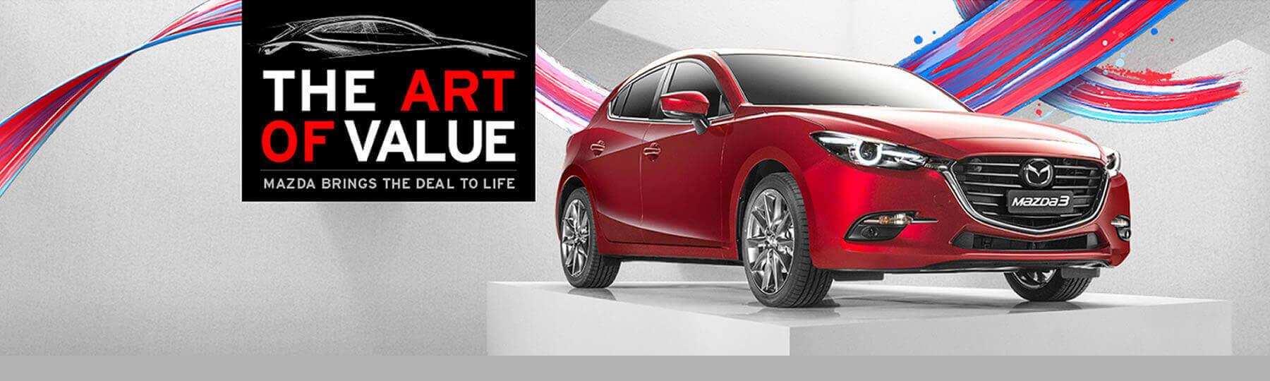 Mazda Factory Offer October