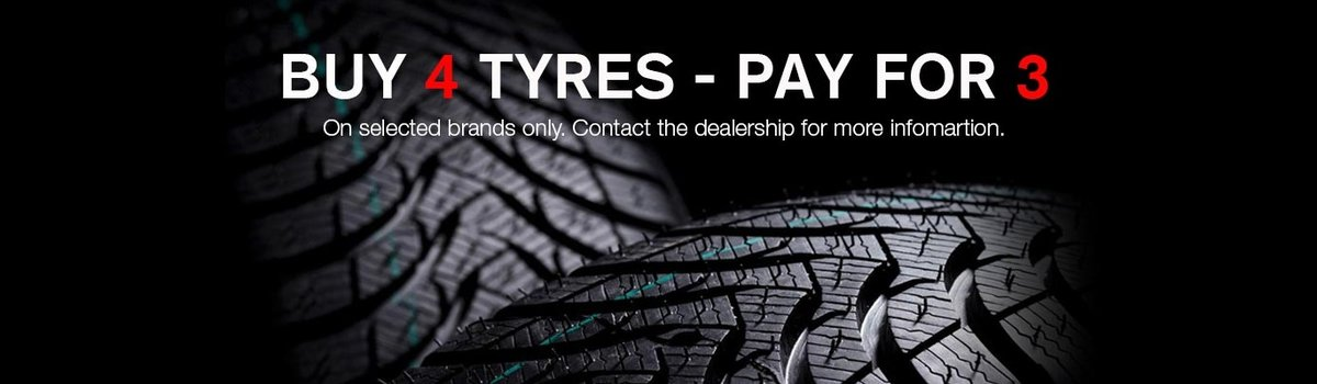 Buy 4 Tyres - Pay for 3 Large Image