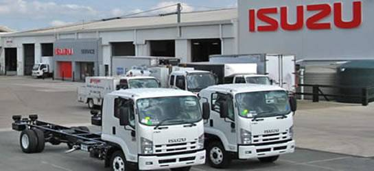 Brisbane Isuzu Fleet
