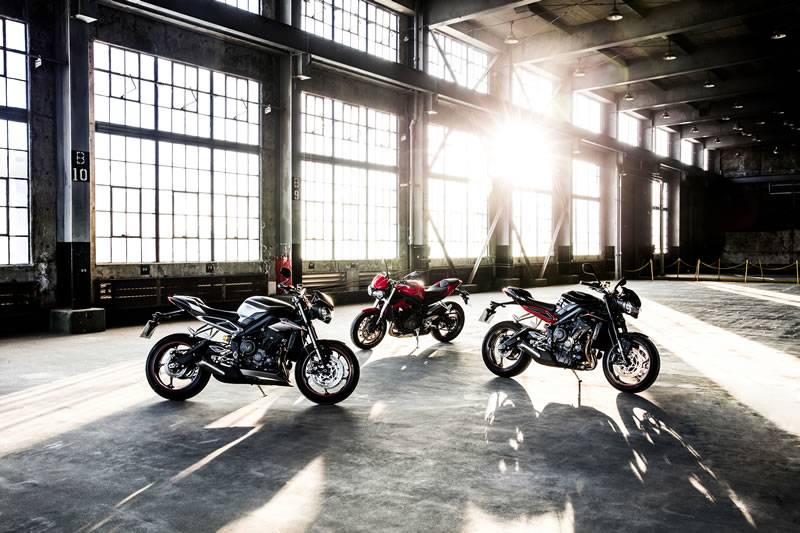 The all-new Street Triple family