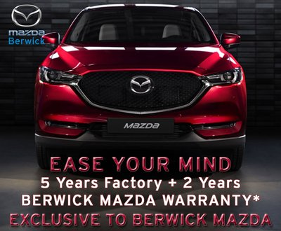 Berwick Mazda 5 + 2 Year Exclusive Warranty image