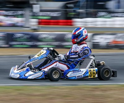 Morgan in action @ the Victorian State Titles, April 2019 image
