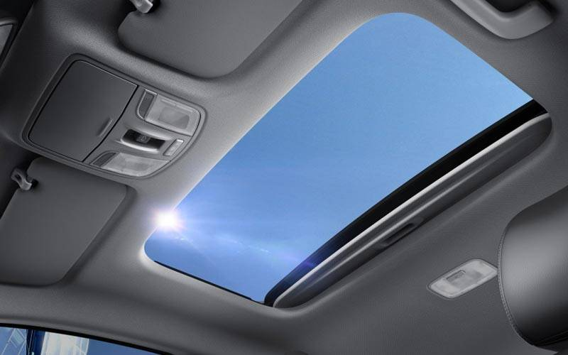 All New Rio Electric Sunroof