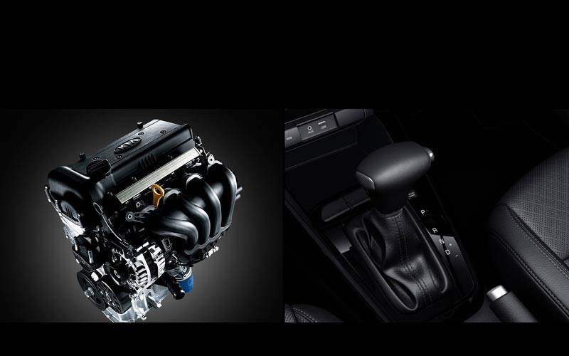 All New Rio - Engine