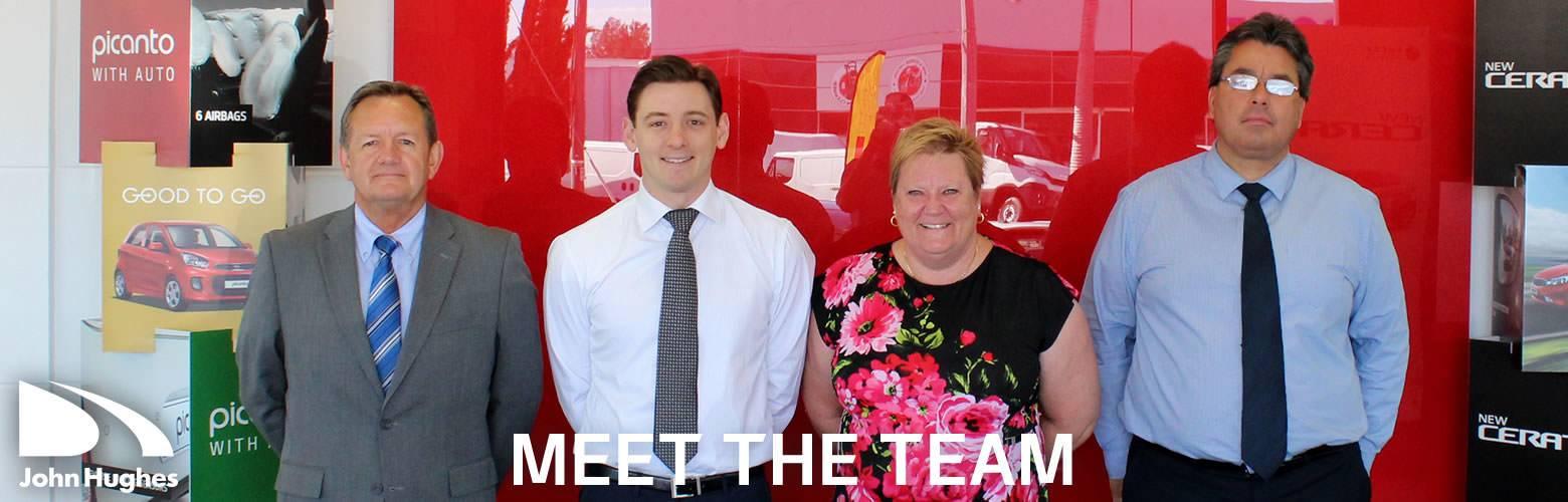 John Hughes Kia - Meet The Team