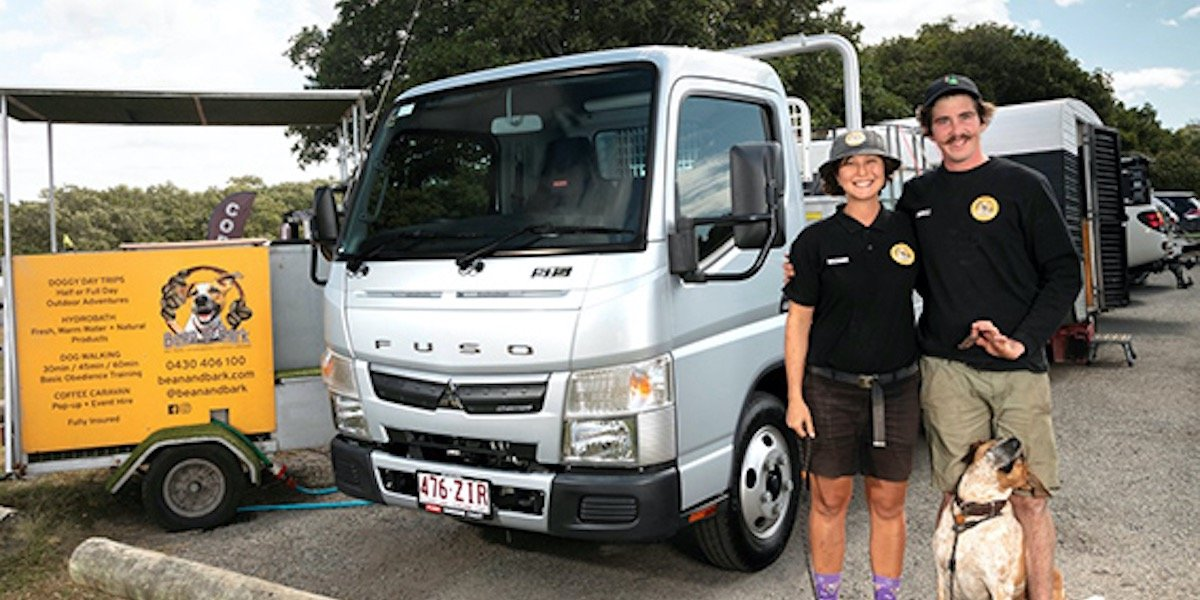 blog large image - Fuso Canter is Dog's Best Friend