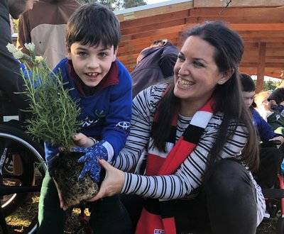 School Tree Day Glenallen 2018 image