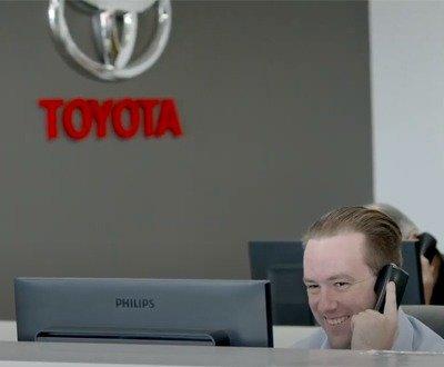 John Madill Toyota dealership service image