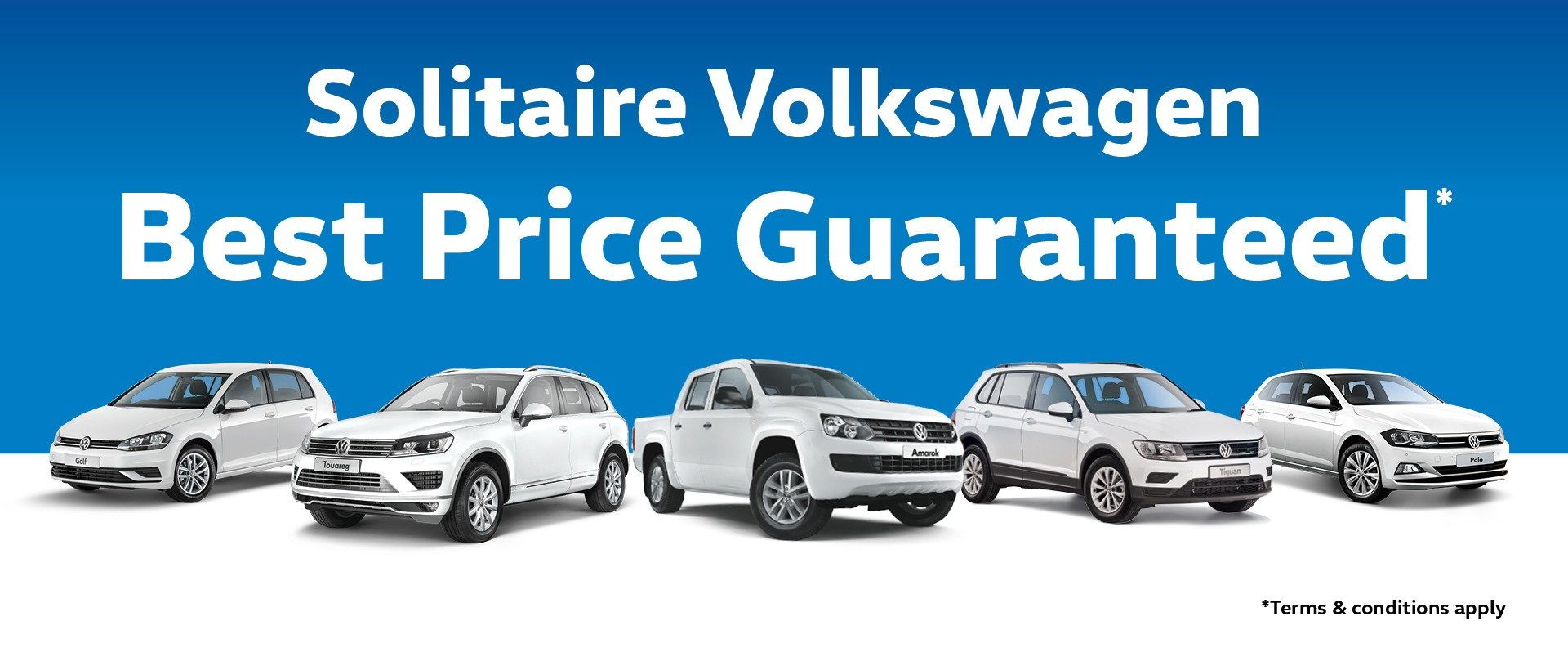 Solitaire Volkswagen Best Price Guaranteed*