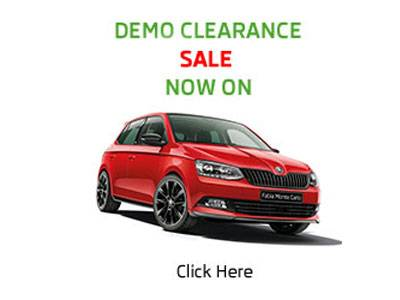 Click Here - To see the great range of Demo Vehicles on Sale at Lennock SKODA