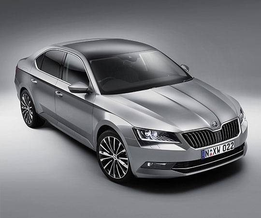 Skoda Welcome Image