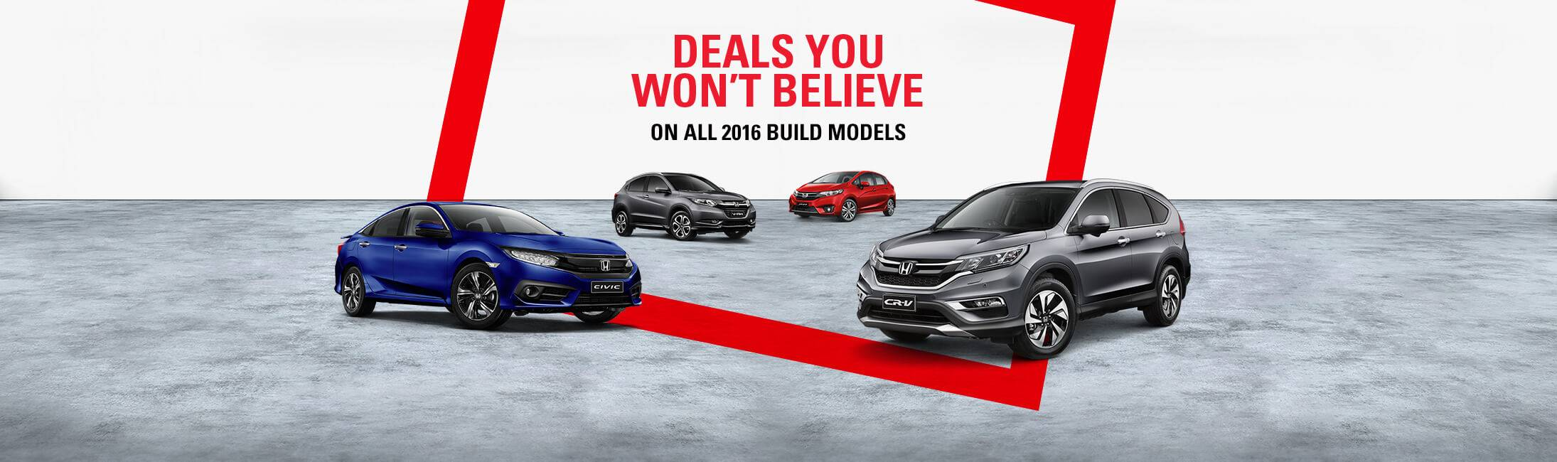 Honda Deals You Wont Believe