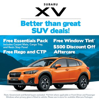 Better than great XV deals! Small Image