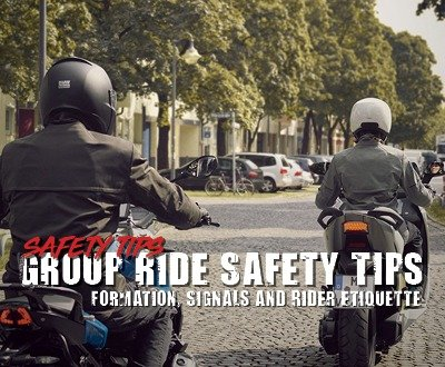 Group Ride Safety Tips | Formation, Signals and Rider Etiquette image